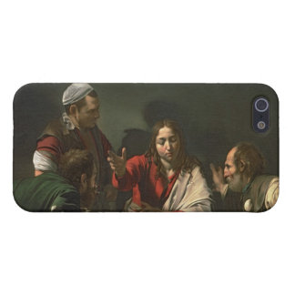 The Supper at Emmaus, 1601 (oil and tempera) iPhone 5 Case