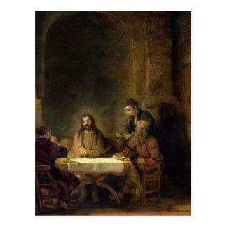 The Supper at Emmaus, 1648 Postcard