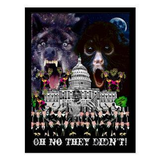 The Supreme Court Jesters Postcard