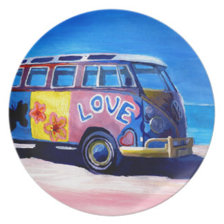 The surf Bus Series - The Love Surf Bus Plate