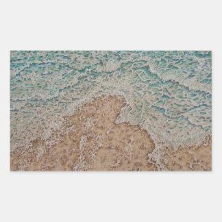 The Surf Rectangular Sticker