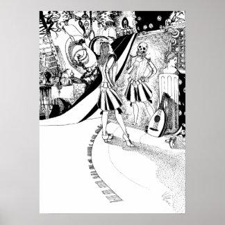 The Surface of Things - Original Art Print
