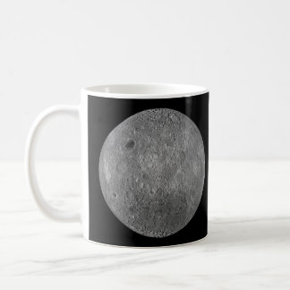 The Surface on the Far Side of Earth's Moon Basic White Mug