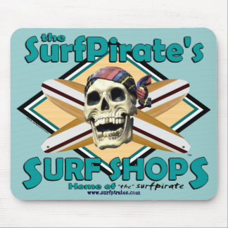 """the""surfpirate Mousepad"