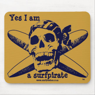 """the""surfpirate Mousepad"
