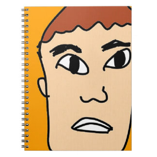 the surprise men notebook