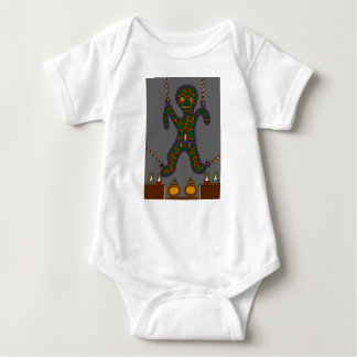 The Suspended Man Baby Bodysuit