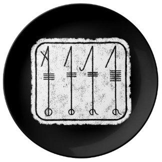 THE SVEFNTHORN Viking design Plate