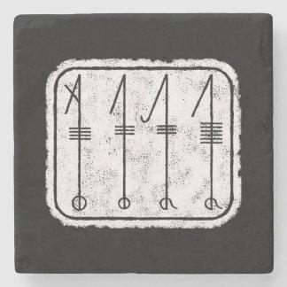 THE SVEFNTHORN Viking design Stone Coaster
