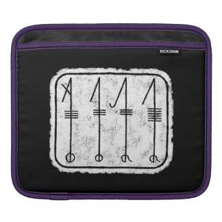THE SVEFNTHORN Viking Symbol iPad Sleeve