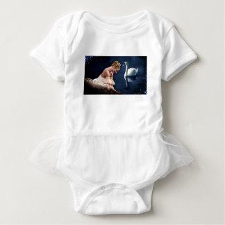 The Swan Baby Bodysuit