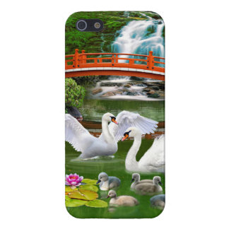 THE SWAN FAMILY iPhone 5/5S CASE
