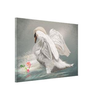 The Swan II - Canvas Print