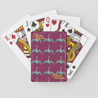 The Swan Princess - Odette swan playing cards
