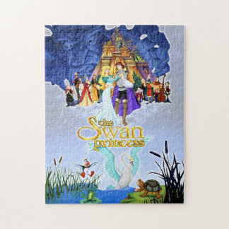The Swan Princess Personalized Photo Puzzle