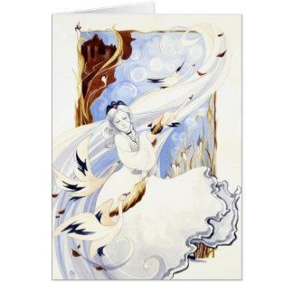 The Swan Queen Card
