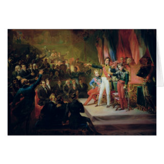 The Swearing-In of Louis-Philippe Card