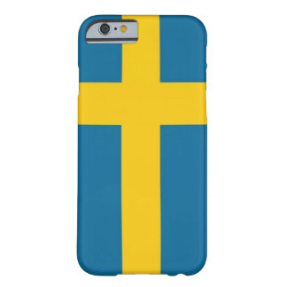 The Swedish flag Barely There iPhone 6 Case