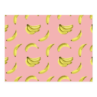 The Sweet Banana Vector Seamless Pattern Postcard