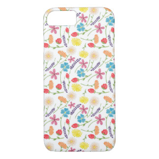 The Sweet Colorful Little Flowers iPhone 7 Case