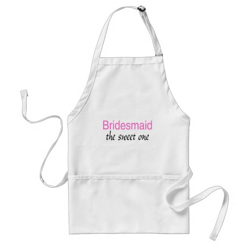 The Sweet One (Bridesmaid) Aprons