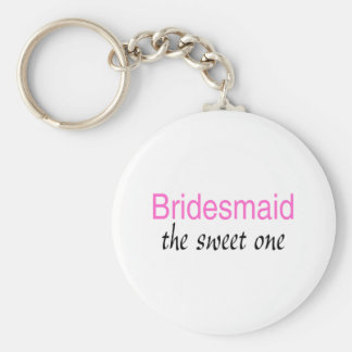 The Sweet One (Bridesmaid) Key Ring