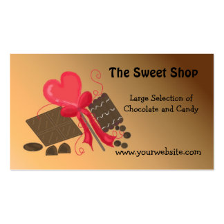 The Sweet Shop Pack Of Standard Business Cards