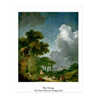 The Swing By Jean-Honore Fragonard Postcard