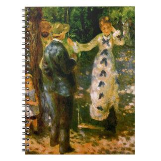 The Swing, Pierre Auguste Renoir Notebooks