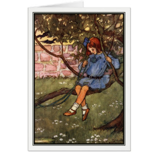 The Swinging Bough by Florence Harrison Card