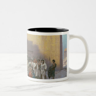The Sword Dance Two-Tone Mug