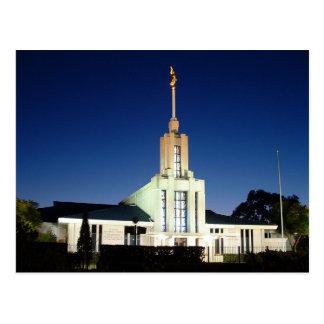 The Sydney Australia LDS Temple Postcard