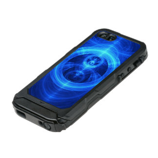 The Symbol of Purpose, Blue Glass Fractal Circles Incipio ATLAS ID™ iPhone 5 Case