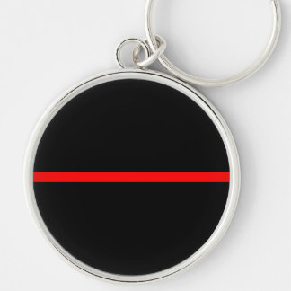 The Symbolic Thin Red Line Decor Key Ring