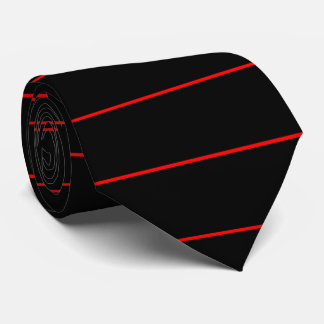 The Symbolic Thin Red Line Fashion on a Tie