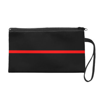 The Symbolic Thin Red Line Statement on a Wristlet
