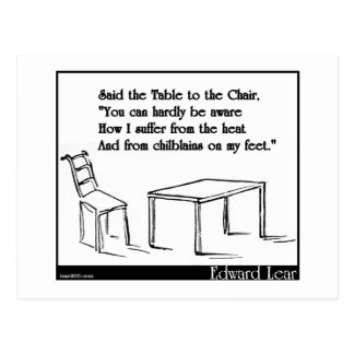 The Table and the Chair Postcard