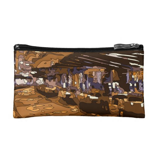 The Table Games of a Luxurious Vegas Casino Cosmetic Bags