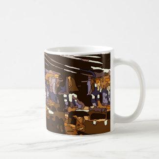The Table Games of a Luxurious Vegas Casino Coffee Mug