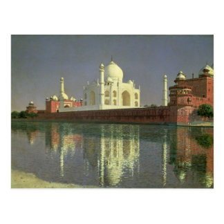 The Taj Mahal, 1874-76 Postcard
