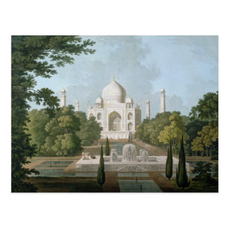 The Taj Mahal, Agra, from the Garden Postcard
