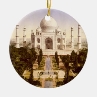 The Taj Mahal in Agra India Ceramic Ornament