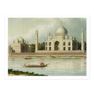 The Taj Mahal, Tomb of the Emperor Shah Jehan and Postcard
