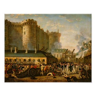 The Taking of the Bastille, 14 July 1789 Poster
