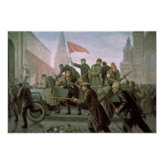 The Taking of the Moscow Kremlin in 1917, 1938 Poster