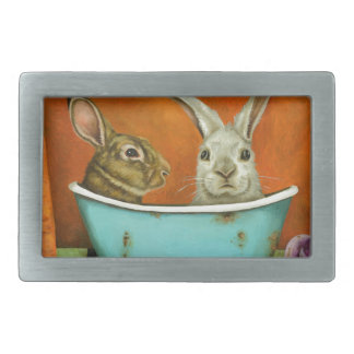 The Tale Of Two bunnies Belt Buckles