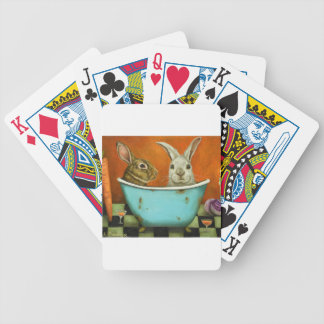 The Tale Of Two bunnies Bicycle Playing Cards