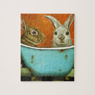 The Tale Of Two bunnies Jigsaw Puzzle