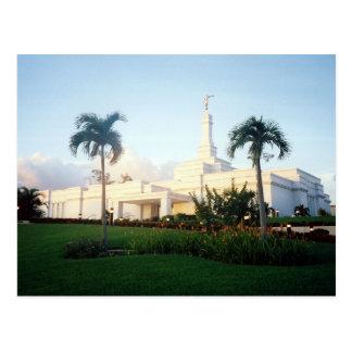 The Tampico México LDS Temple Postcard