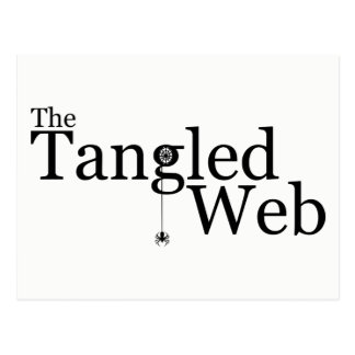 The Tangled Web Postcard